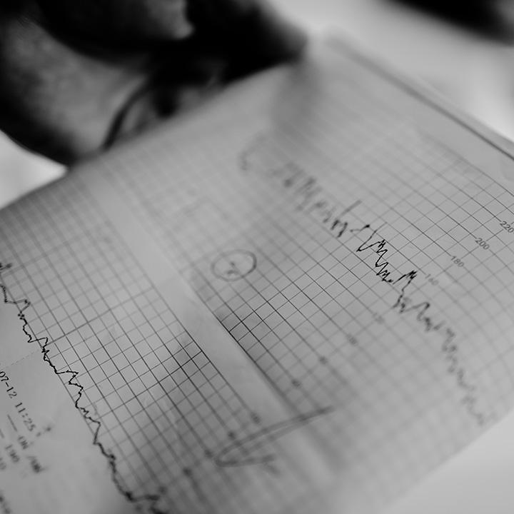 Cardiotokograph beim Frauenarzt in Fürth